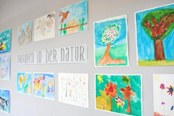 Kunst-Ausstellung im Bürgerservice