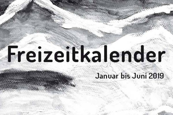 Freizeitkalender für 2019 vorgestellt