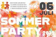 Sommerparty: 10 Jahre Schatzkiste