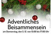 Pflege zu Hause: Adventsfeier