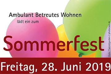 Sommerfest BeWo 2019
