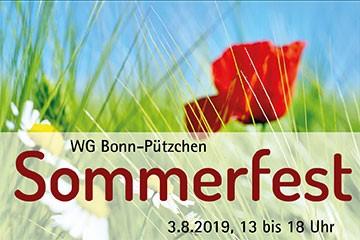 Sommerfest Pützchen 2019