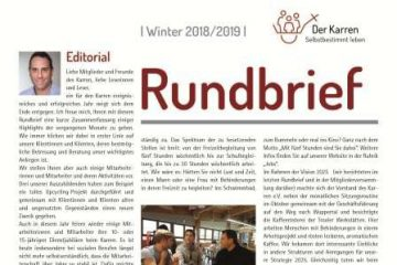 Rundbrief Winter 2018